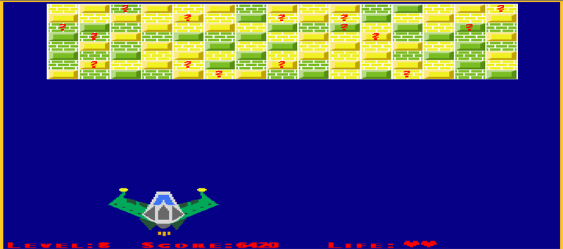 Spaceship game - prosta gra w Javascript - 10 levels